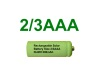 2/3AAA Rechargeable Solar Light Batteries