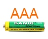 AAA Rechargeable Solar Light Batteries