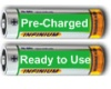 Precharged Rechargeable Batteries