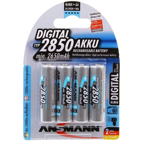 Ansmann rechargeable batteries